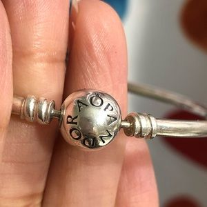 Pandora Jewelry - Pandora Sterling silver bangle bracelet